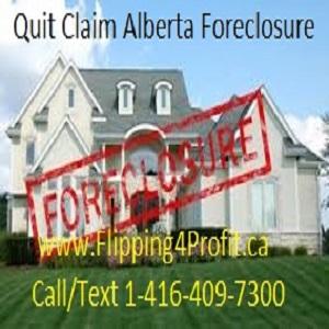 Quit Claim - Alberta Foreclosure