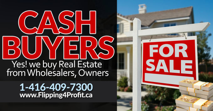 A Notice to all Wannabe Canadian Real Estate Investors