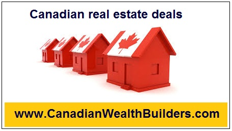 Begin possessing Canadian real estate deals from 40 - 85% Discount