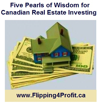 Five Pearls of Wisdom For Real Estate Investing