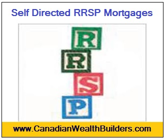 Self Directed RRSP Mortgages