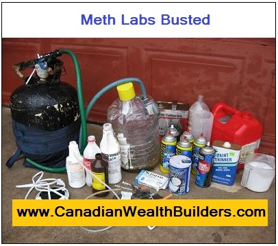 Meth Labs Busted